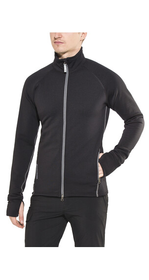 Houdini Power Jacket Men true black/shadow grey